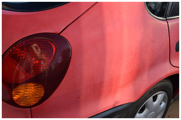 Toyota-Carolla-dull-paint-work-back